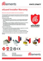 Elements eGuard Warranty